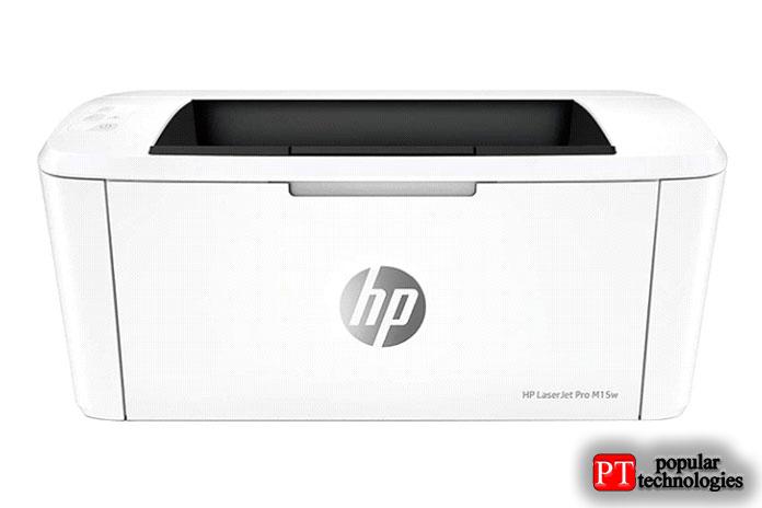 Беспроводной лазерный принтер HP LaserJet Pro M15w