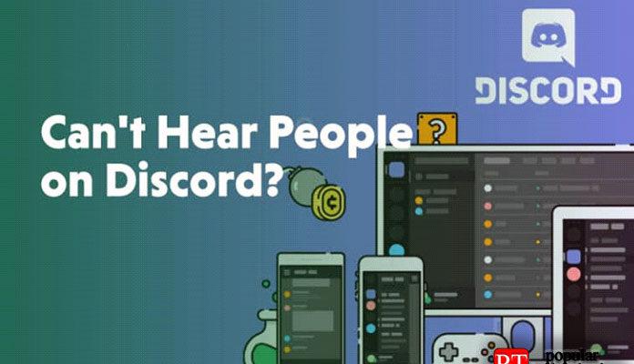 Дискорде (Discord) не слышно собеседника