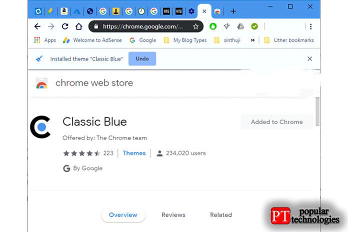 Это была светлая тема Google Chrome