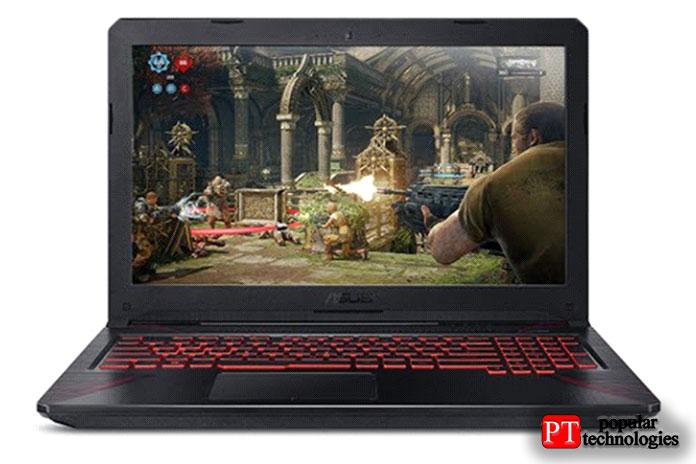 Игровой ноутбук ASUS TUF Thin & Light (FX504)