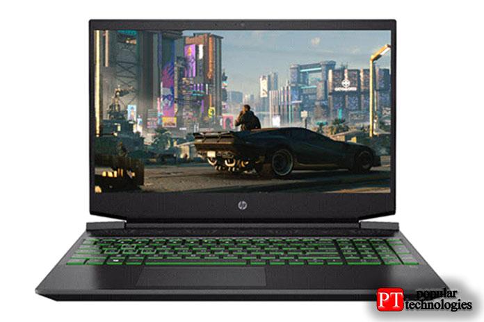 Игровой ноутбук HP Pavilion 15.6 FHD 2021 года