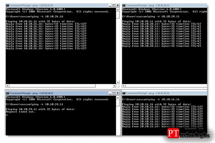 Как пинговать несколько IP-адресов