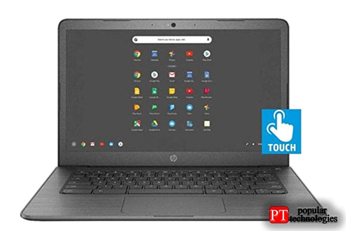 Новейший 14-дюймовый Chromebook HP