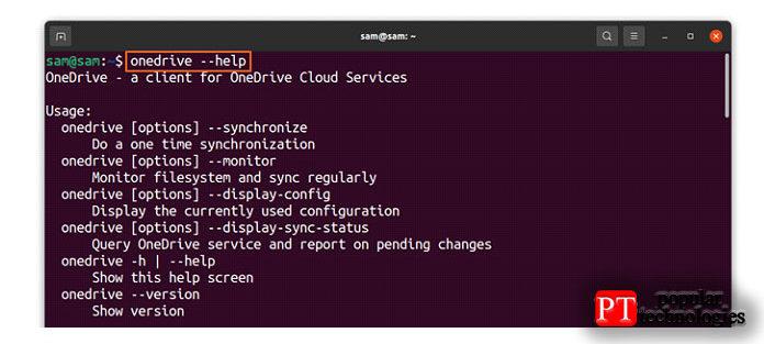 OneDrive теперь синхронизирован сLinux