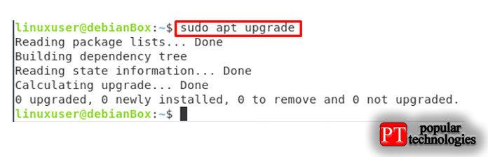 После обновления кэша системного репозитория также обновите пакет