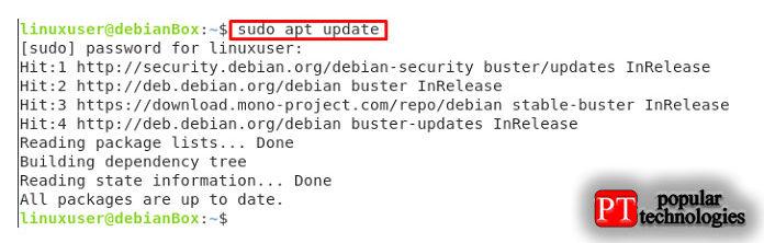 После завершения загрузки файла.deb Skype