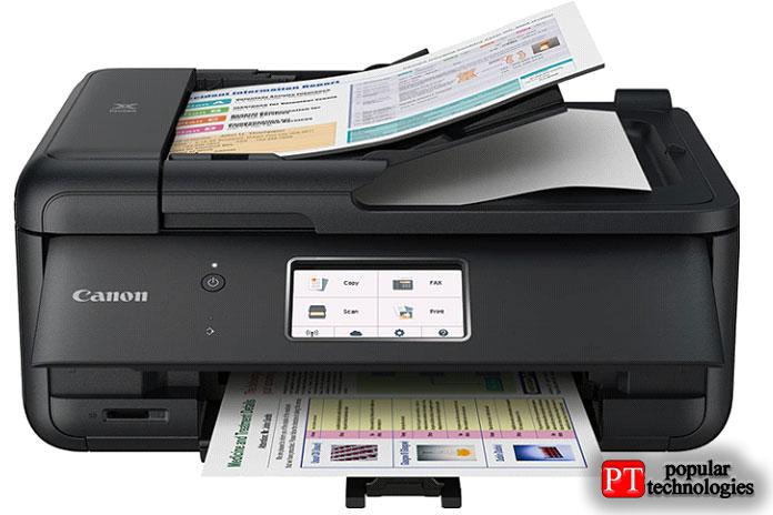 Принтер Canon TR8520 All-In-One для домашнего офиса