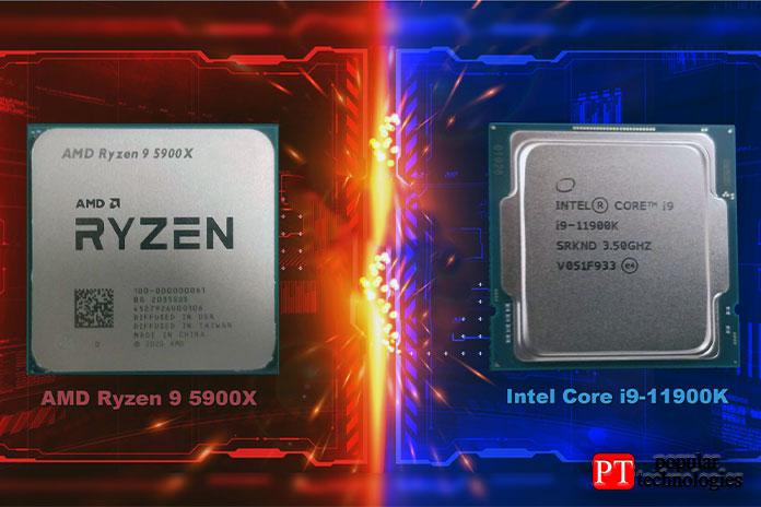 Ryzen 9 5900X или Intel Core i9-11900K
