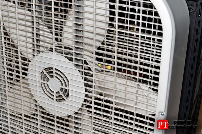 Температура искорость вентилятора