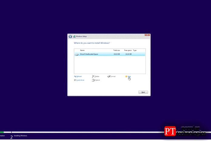 Здесь высоздаете основной диск идиск восстановления для Windows