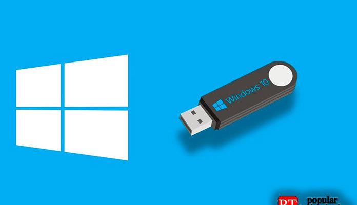 создать загрузочный USB