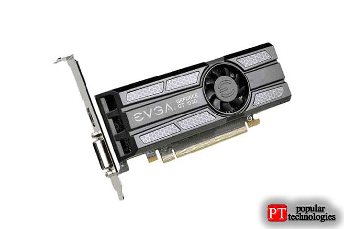 EVGA GeForce GT1030SC 2ГБ GDDR5