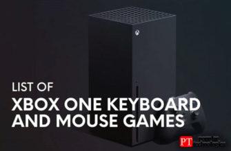 Игры для Xbox One с поддержкой клавиатуры и мыши