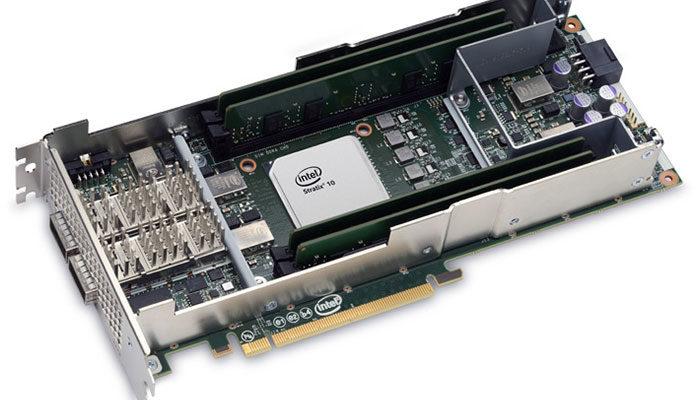Intel предлагает для карт FPGA