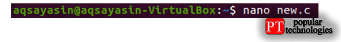 Итак, вначале выдолжны создать новое имя файла типа