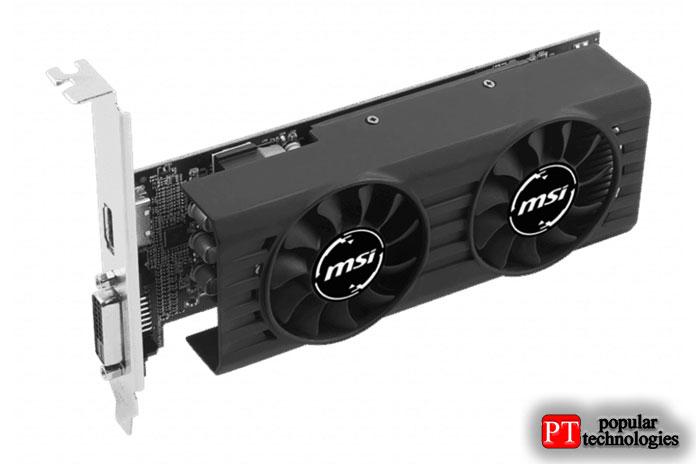 MSI AMD Radeon RX460 4GT LP4ГБ GDDR5