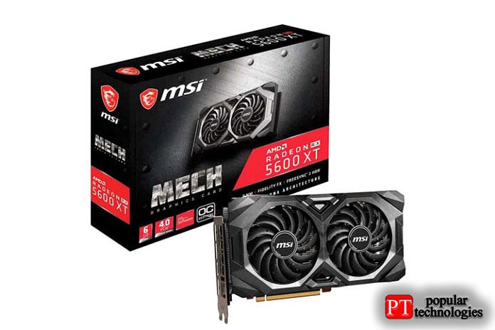 MSI AMD Radeon RX5600XT