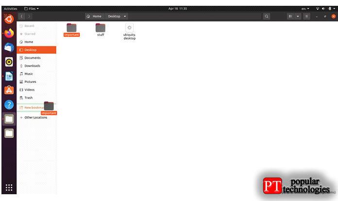 ВUbuntu13.04 есть кнопка сзубчатым колесом вправом верхнем углу