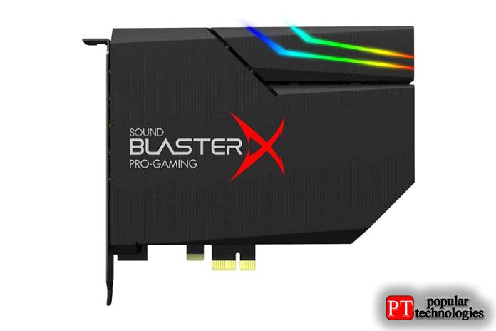 Creative Sound BlasterXAE-5