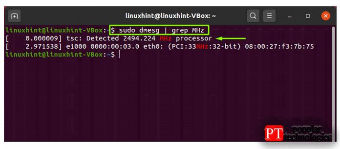 Dmseg используется для отображения сообщений изкольцевого буфера ядра