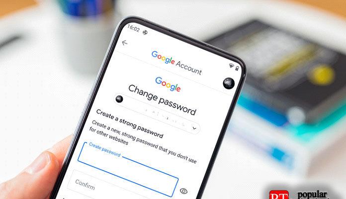 Как изменить забытый пароль учетной записи Google