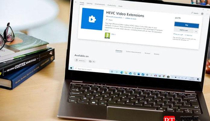 Как установить кодеки HEVC для Windows 10