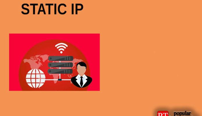 Настроить статический IP-адрес