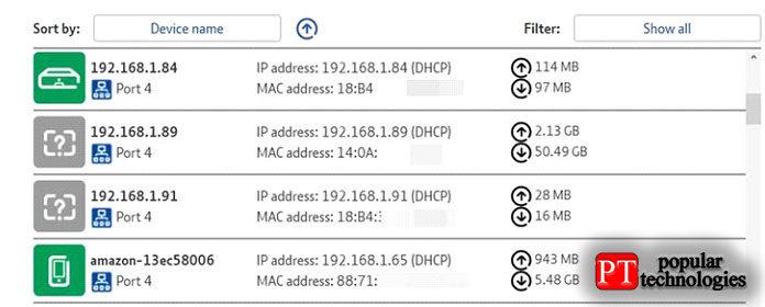 Обратите внимание, что IP-адрес обычно