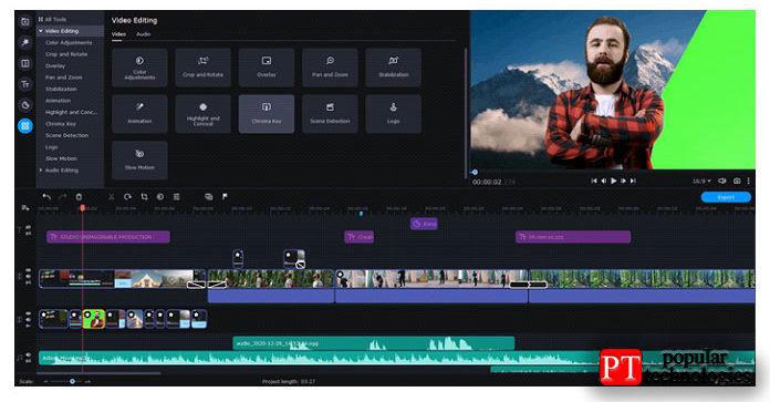 Одним изсамых популярных фильтров вTikTok является Green Screen