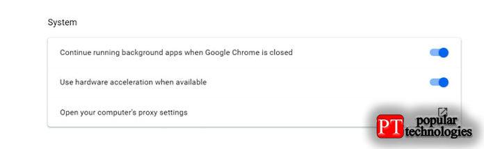 Откройте новое окно Google Chrome иперейдите в«Настройки»