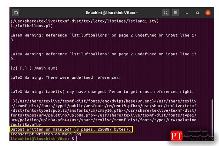 Вприведенном ниже примере мыконвертируем латексный файл main2