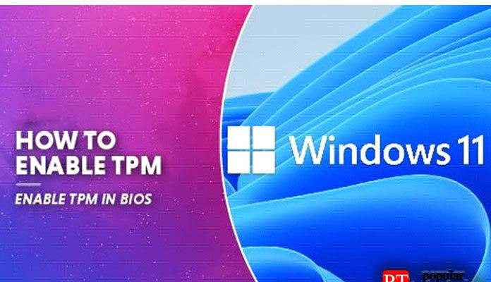Windows 11 как включить TPM в BIOS