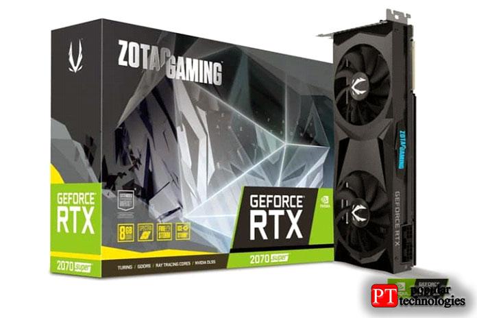 ZOTAC GAMING GeForce RTX 2070SUPER 8ГБ