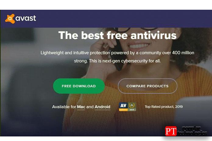 Здесь мыиспользуем Avast, нопроцесс почти одинаков для всех антивирусов