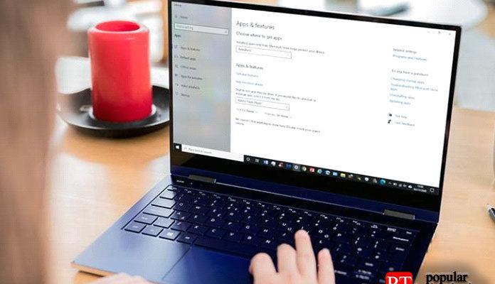 удалить Adobe Flash Player из Windows