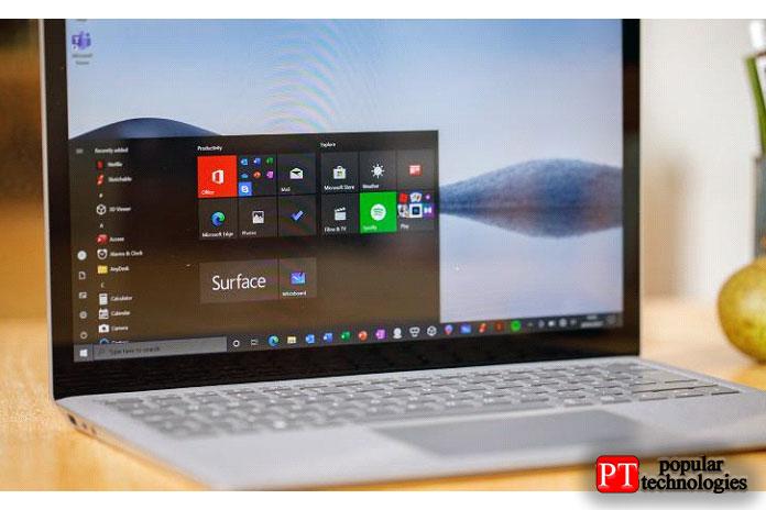 Если вырассматриваете Surface Laptop4, тотот факт, что онзапускает Windows10