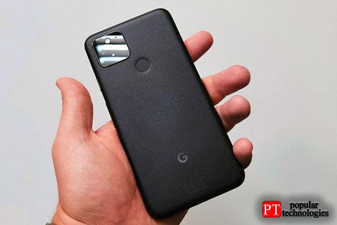 Google Pixel 5 — самый компактный смарфон