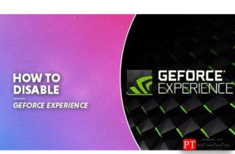 Как отключить GeForce Experience