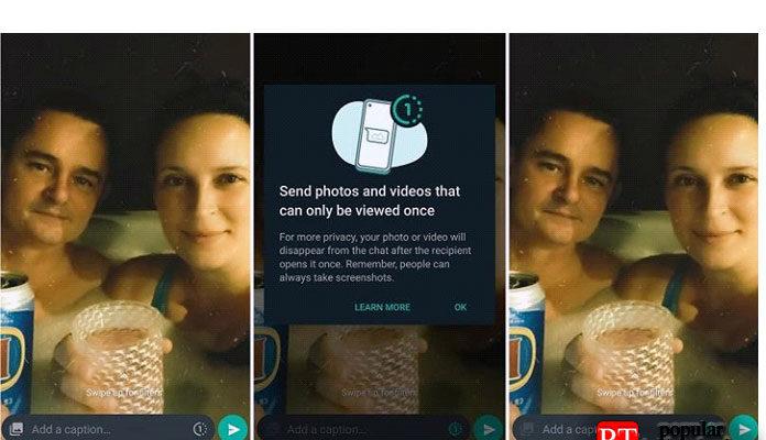 Как отправлять самоуничтожающиеся фото и видео в WhatsApp