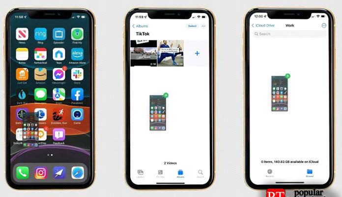 Как перемещать скриншоты в iOS 15
