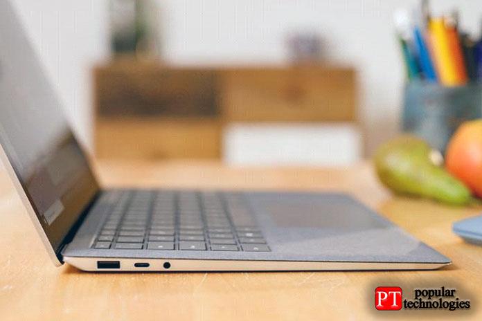Microsoft наконец-то внедрила USB-Cв Surface Laptop 3
