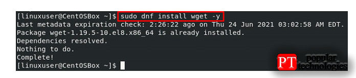 После этого установите пакеты, необходимые для установки CWP