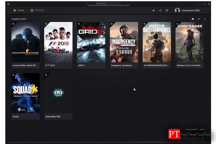 Приложение автоматически завершится изагрузит GeForce Experience