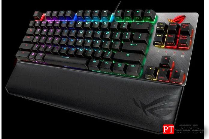ROG Strix Scope TKL Deluxe— лучшая клавиатура TKL
