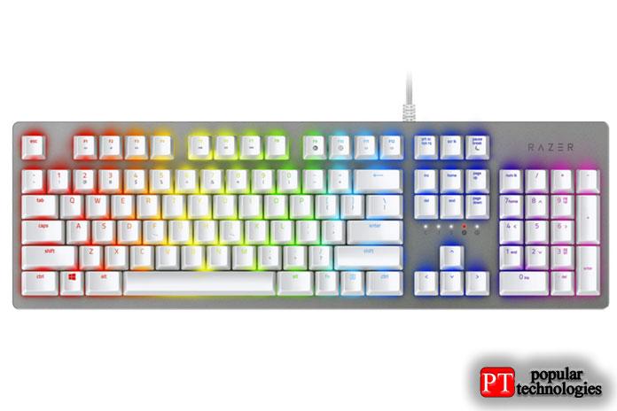 Razer Huntsman— самая красивая игровая клавиатура