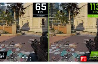 Улучшения Nvidia DLSS 2.2 - уменьшение Ghosting и Smudging