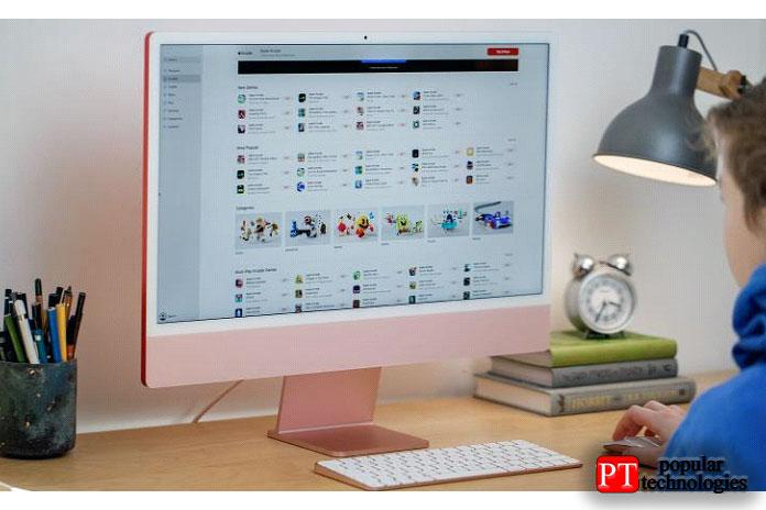 ВMac App Store также есть набор приложений для iPad иiPhone
