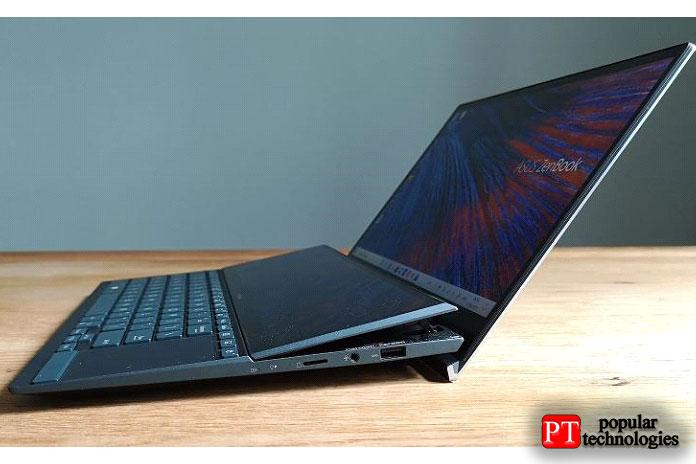 Вне всяких сомнений, Asus ZenBook Duo сNvidia MX450