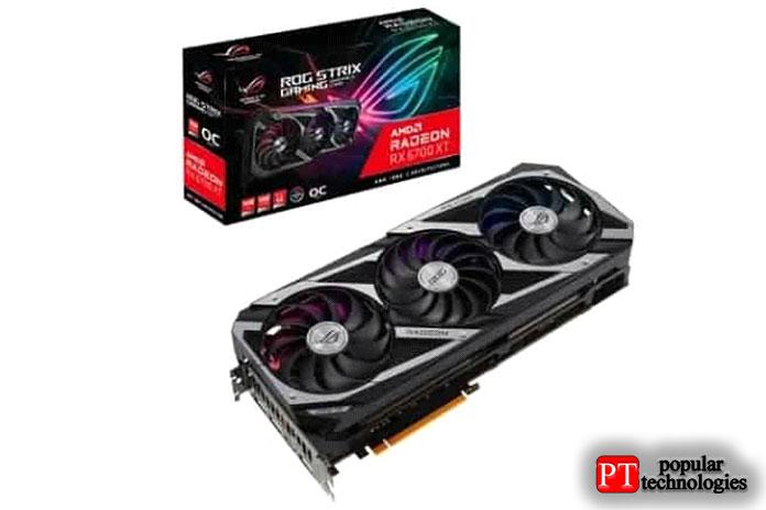 ASUS ROG Strix Radeon RX6700XT OC