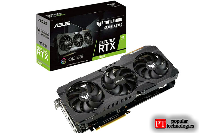 ASUS TUF Gaming NVIDIA GeForce RTX 3060OC Edition